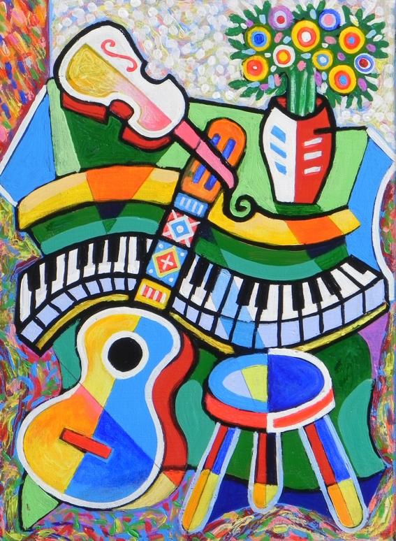 <h4><b>Piano Still Life</b></h4>